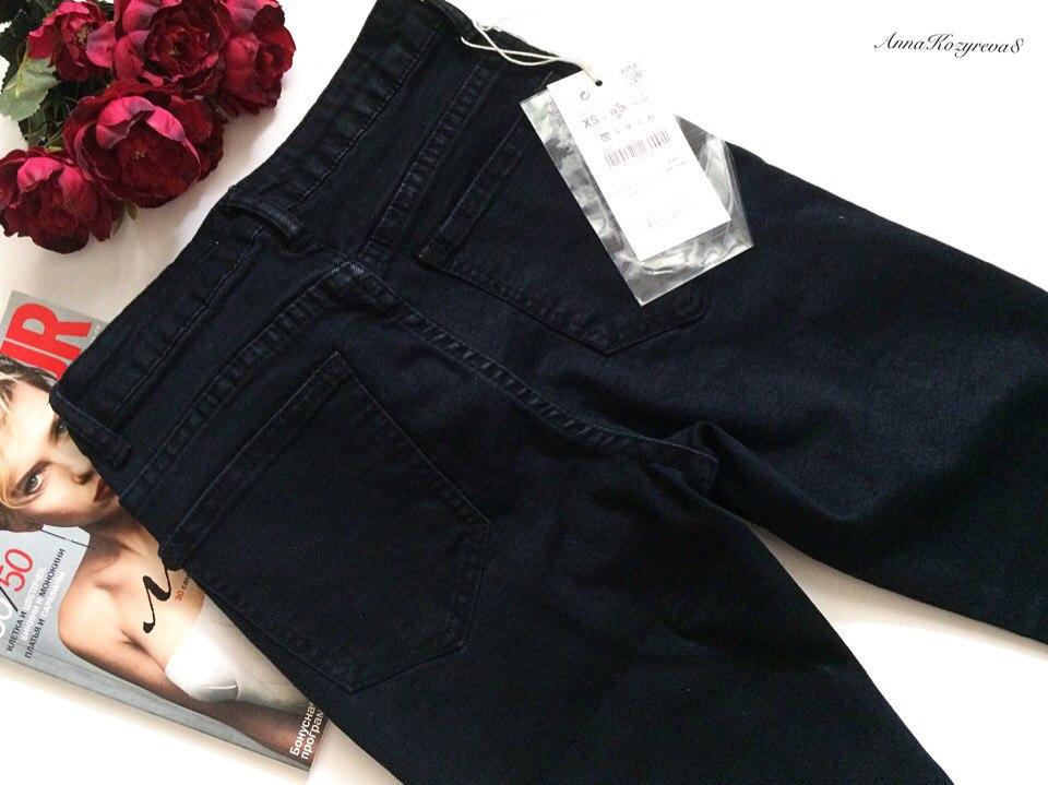 Классические чрные джинсы в стиле Z из магазина COCOS KSS Store