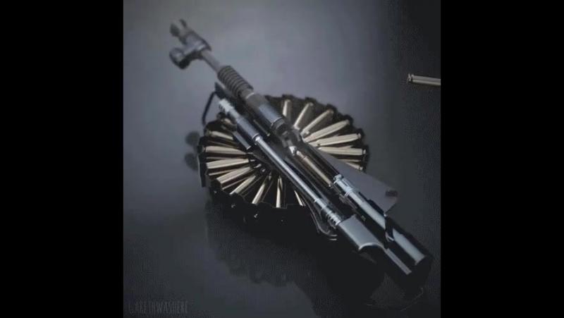 Как работает пулемёт Льюиса