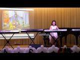 Ситдикова Аделия Парфенов Жонглер ( аранжировка Валеевой Ч.З.) Выступление на Гала-концерте 17 февраля 2017г