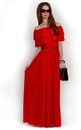 Платье в пол белорусское