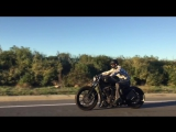 2013 Harley Davidson Custom Iron Sportster Bobber - Turn The Page