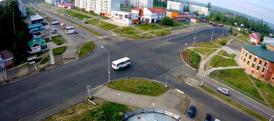 «Бесполосное» движение: отсутствие разметки на дорогах Усть-Илимска