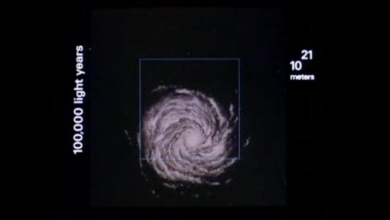 Gas - Microscopic (Powers of Ten)