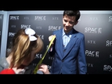 The Space Between Us - Red Carpet Interviews with Lindalee - World Premiere