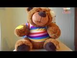Видеообзор- Говорящий игрушка Медведь-сказочник с USB кабелем, можно загружать сказки
