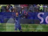 Эмоции Роналду и Месси после победного мяча. Реал - Барселона 2:3w