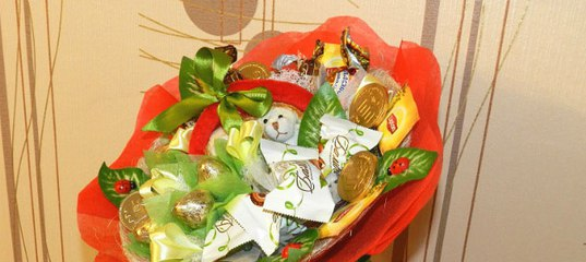 Что подарить вместо цветов к подарку 55