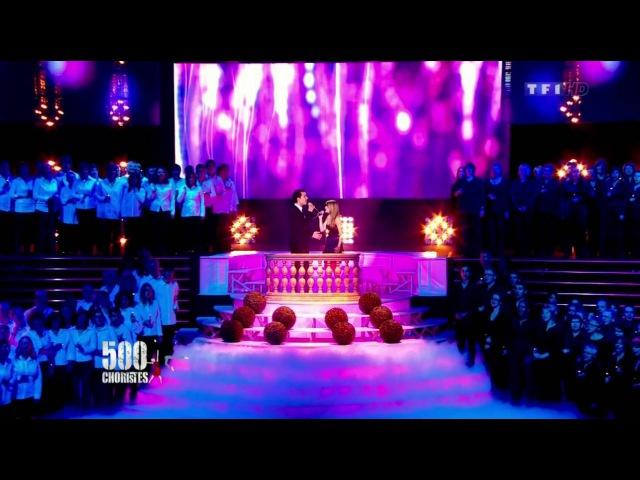 Damien sargue and cecilia cara - Aimer (500 choristes 2012-01-06)