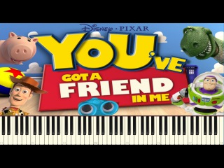 You've got a friend in me - Toy Story [Piano Tutorial] Synthesia