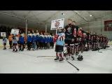 Сюжет с церемонии открытия этапа Карпатской Молодежной Хоккейной Лиги в Новояворовске