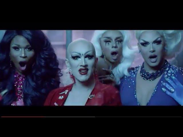 C.L.A.T. But SHADY AF Ft. Willam Katya Trixie Detox Farrah Bianca Alyssa Aja Valentina Sasha
