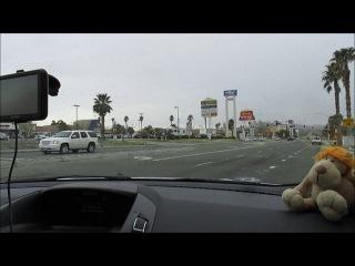 Большое путешествие в Америку. Дорога от Лос Анджелеса до Долины Смерти .