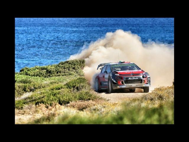 Citroёn Racing WRC 2017 07 Rally Italia Sardegna highlights