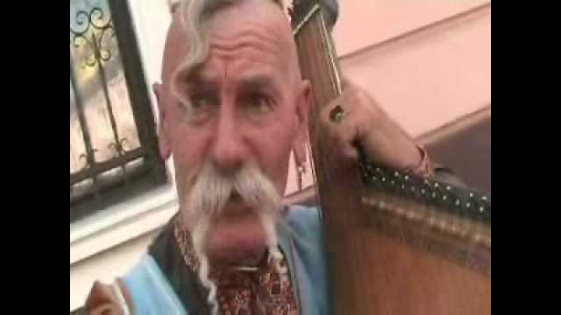 Kosake von Krim singt altdeutsches Liedgut in Lemberg Lviv Lwow Ukraine