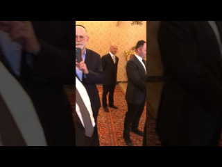 The Pope dancing to Hasidic music