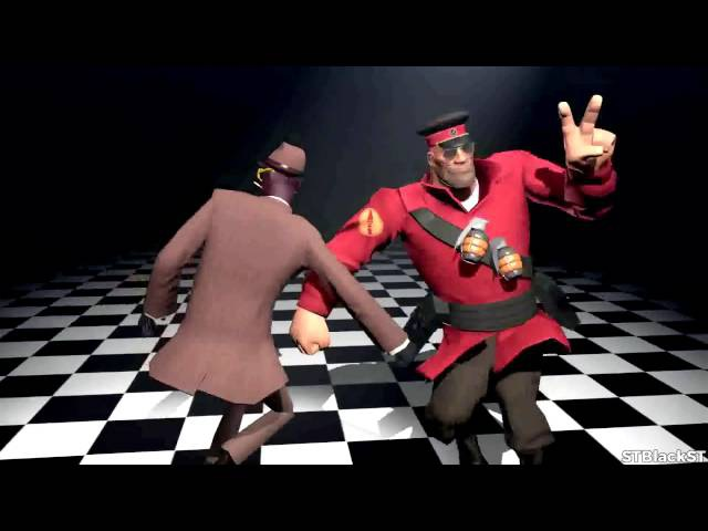 Soldier and Spy dance for 5 minutes (STBlackST)