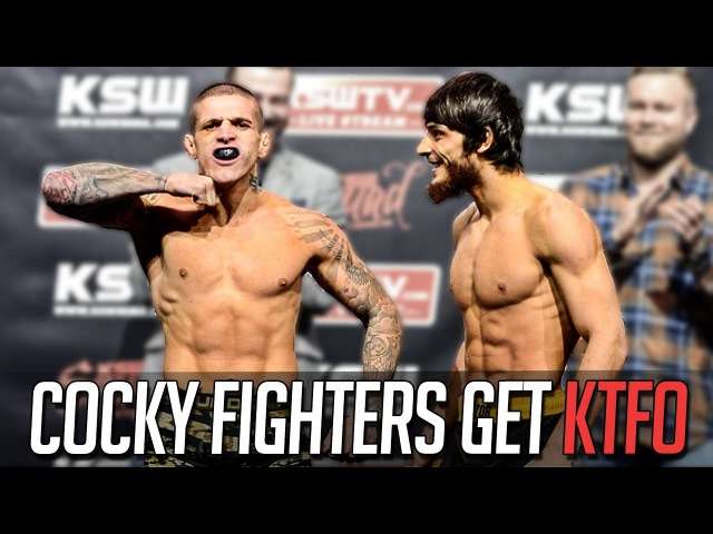 Cocky MMA Fighters Get KTFO cocky mma fighters get ktfo