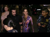 Alessandra Ambrosio attending the Balmain after party in Paris