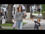 Alessandra Ambrosio Spends Quality Time With Her Little Warrior