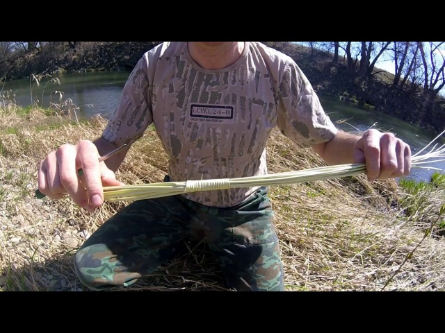 Pletenie korbáča s ozdobnou rúčkou