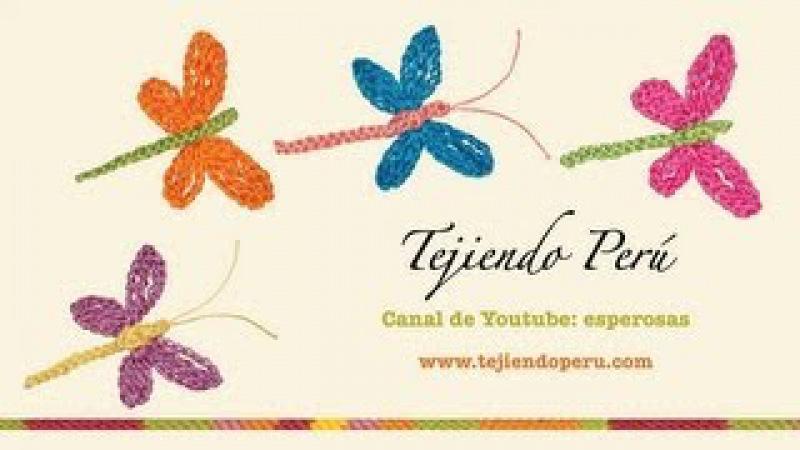 Libélulas en crochet modelo 2 Tejiendo Perú