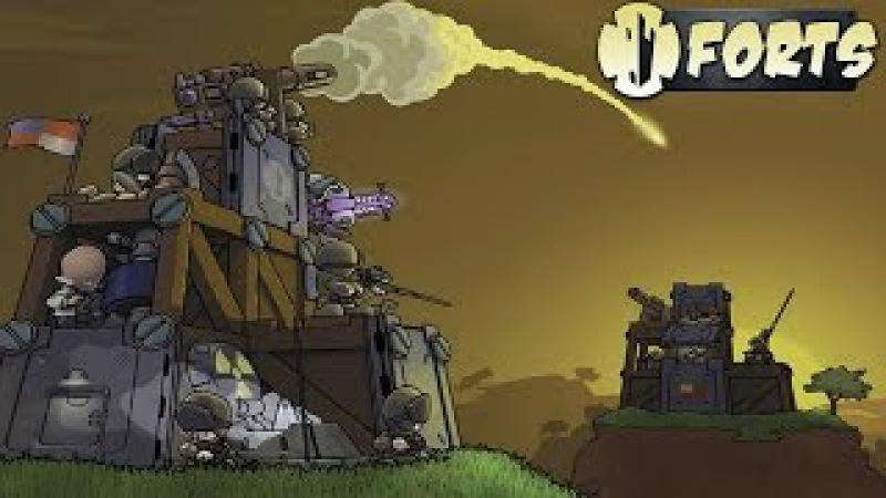 Forts (Multiplayer Online) - Construindo e Batalhando