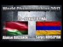 Aliaksei RUDZIANOK (BLR) VS Sargis HOVSEPYAN (ARM) FS 96 KG 1/8 FINAL