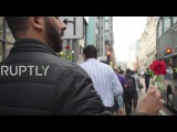 UK 'ISIS is not Islam' - Muslim community in Manchester hold peace walk