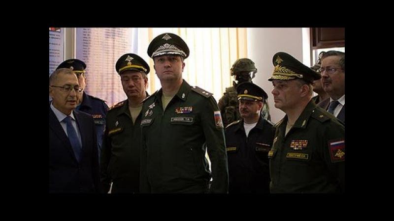 Современный госпиталь открыли на военной базе РФ в Таджикистане