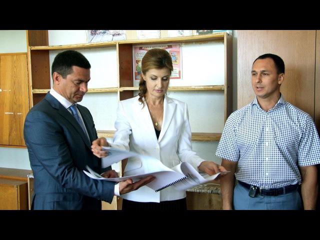 Візит Марини Порошенко до Балабинського навчально-виховного комплексу «Престиж»
