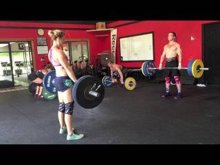 Ben Smith - 300 lbs Hang Clean x 20