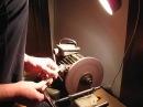 Заточка сферических ножей к ледобуру MORA в домашних условиях