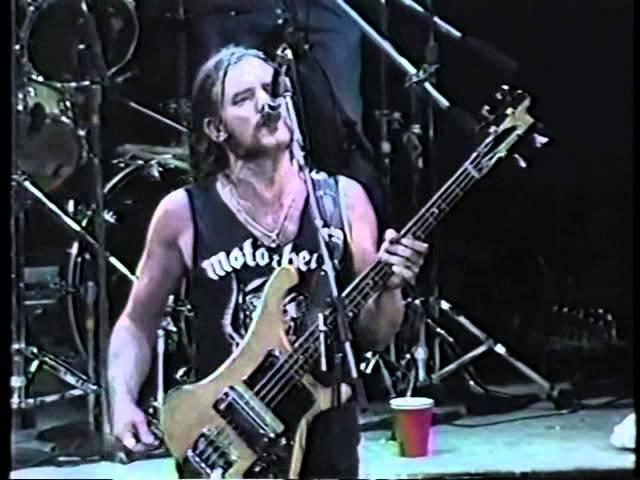 Motörhead Ace Of Spades Live 1991