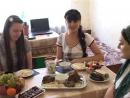 Жижиг Галнаш мясо с клёцками-галушками чеченская кухня