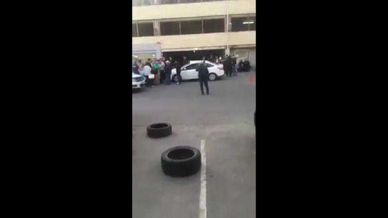 Скандал на парковке