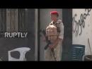 Военная полиция РФ патрулирует КПП неподалёку от Голанских высот в Сирии