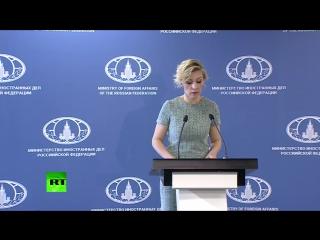 Захарова предложила CNN по примеру RT сделать честный сюжет о мальчике из Алеппо