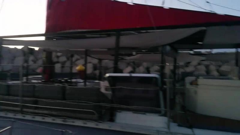 Корабль викингов в марине Сан Мигель на Тенерифе