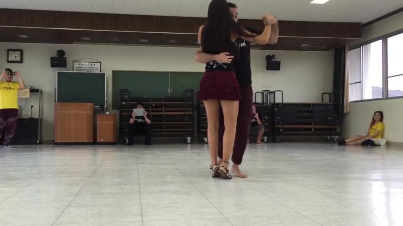 Diandra Souza e Lucas Dumont - Pé Descalço - Apresentação Workshop Takahama 2016 (Nosso Forró)