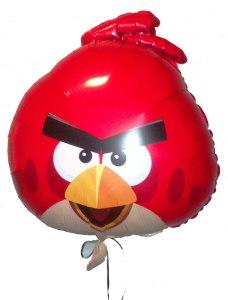 шарик фольгированный angry birds злые птички купить в запорожье