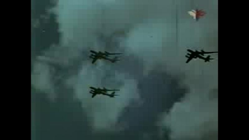 Могучие крылья. фильм о воздушном параде. 1961г.