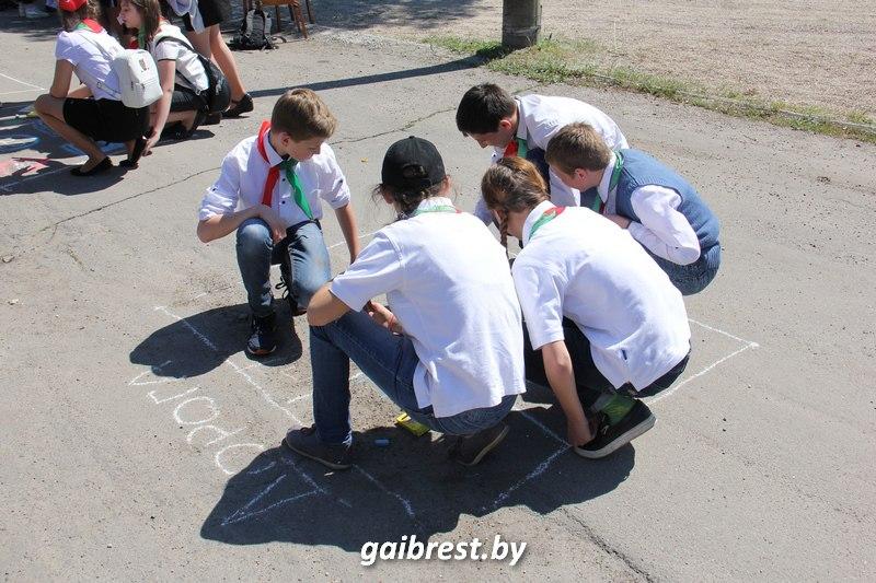 Госавтоинспекция приняла участие в областном фестивале пионерских дружин