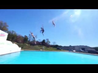 Swimming Pool Jumping