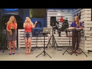 Girls trio