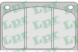 Комплект тормозных колодок, дисковый тормоз для BENTLEY EIGHT
