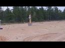В Якутии мужчина прогнал криком медведицу с медвежатами