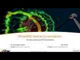 XFlow/MSC Nastran Advanced FSI Co-Simulations Webinar