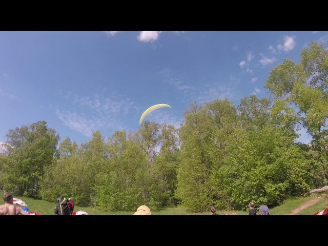 Гнездо (Paragliding crash)