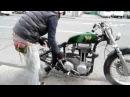Heiwa motorcycle ajs m16 green peace
