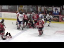 21 Oct Laval Vs Sorel Hockey Bench Brawl General LNAH 1st Camera Angle